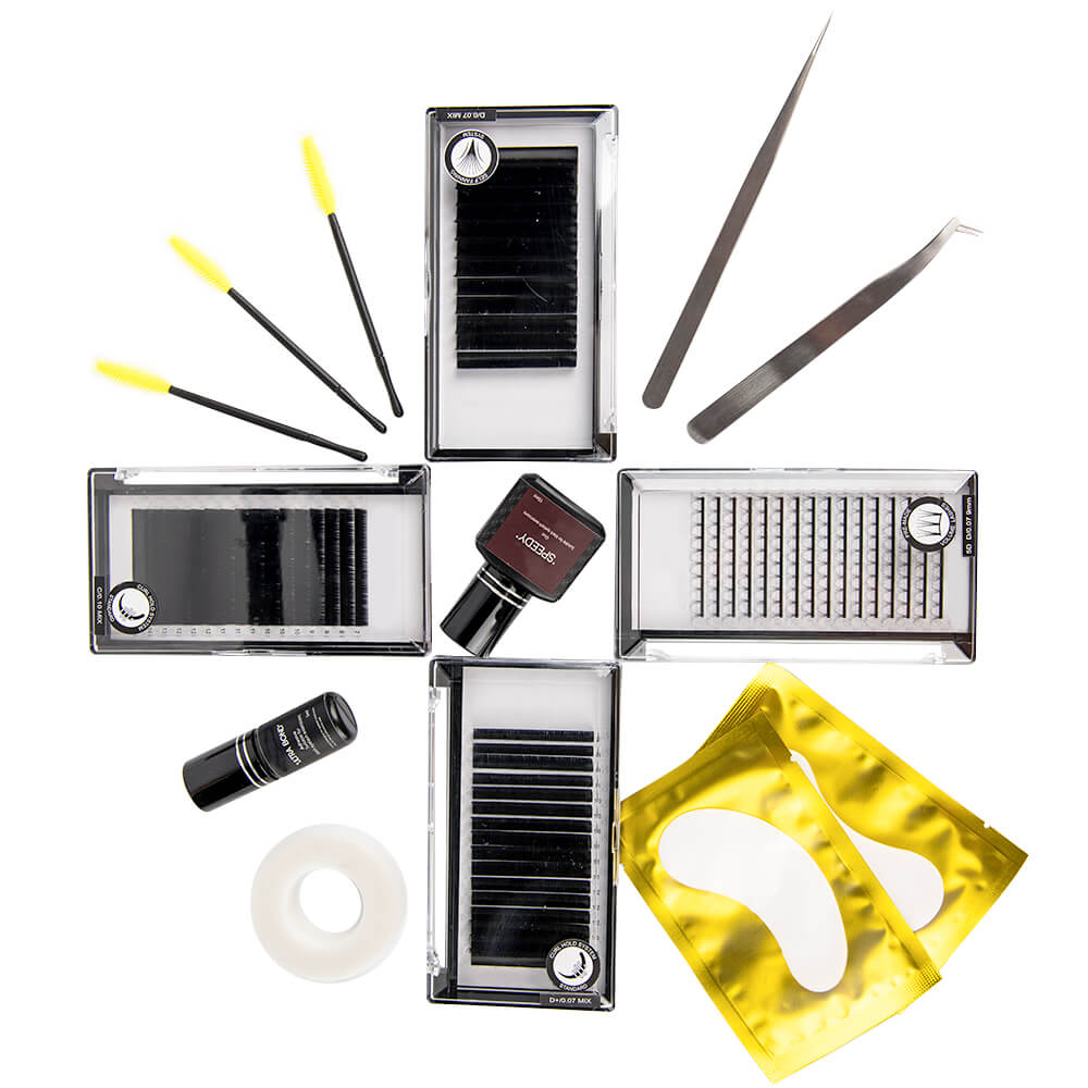 best eyelash extension kits