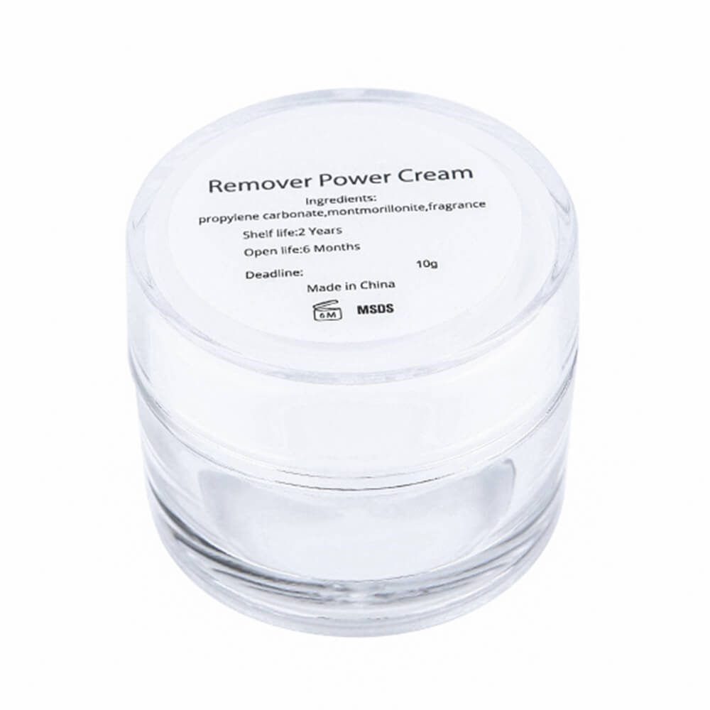 eyelash cream remover