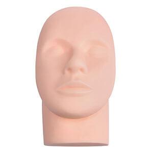 eyelash extension mannequin head