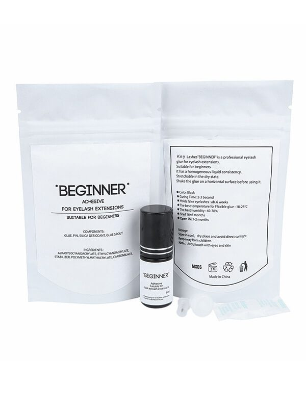 eyelash extension glue with packaging-BEGINNER